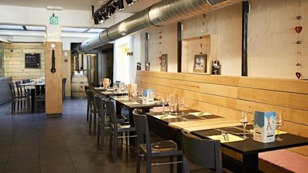 Vue de l'intérieur - Les Fondus de la Raclette, Brussels