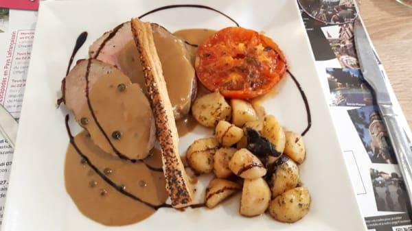 Suggestion de plat - Aux Portes du Quercy - De la Boucherie à l'Assiette, Meauzac