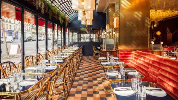 Salle du restaurant - Grand Café Capucines, Paris