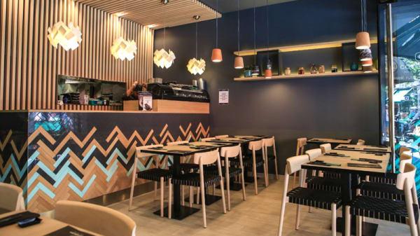 Salle du restaurant - Côté Sushi Rambuteau, Paris