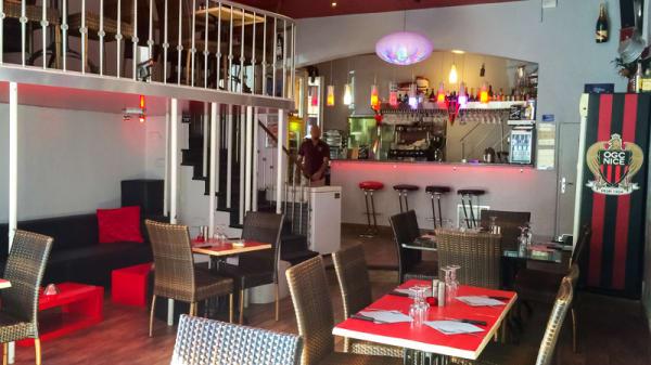 Salle du restaurant - Crep'and Go, Nice