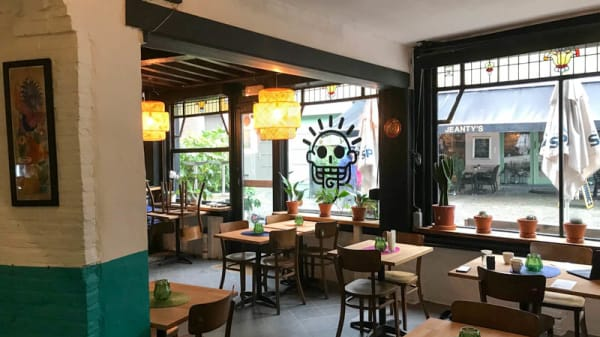 Vue de la salle - Urban Mexican Taste Mixco, Antwerpen