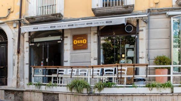 Entrata - Osso, Salerno