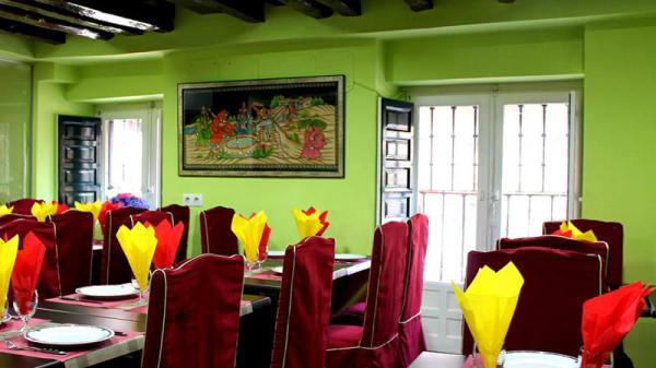 Vista sala - Sonali Indian Restaurant, Madrid