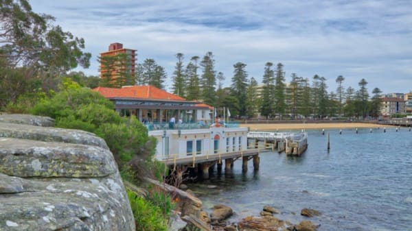 Restaurant's front - Manly Pavilion, Manly (NSW)