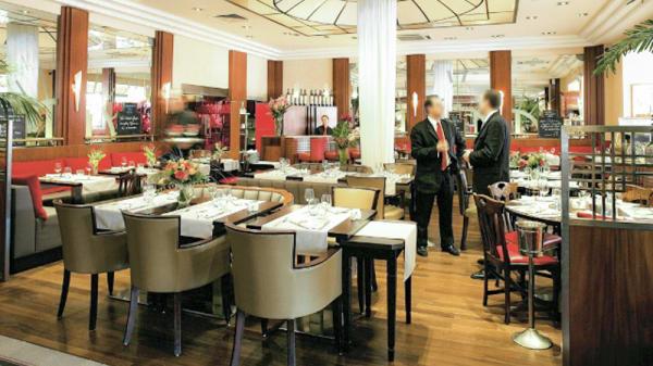 Aperçu de l'intérieur - Brasserie Léopold - Hôtel Saint-Christophe - Aix-en-Provence, Aix-en-Provence