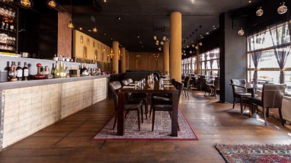 Het restaurant - Afghaans restaurant Afsana, Rotterdam