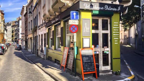apreçu de l'extérieur - Winehouse Osteria, Brussels