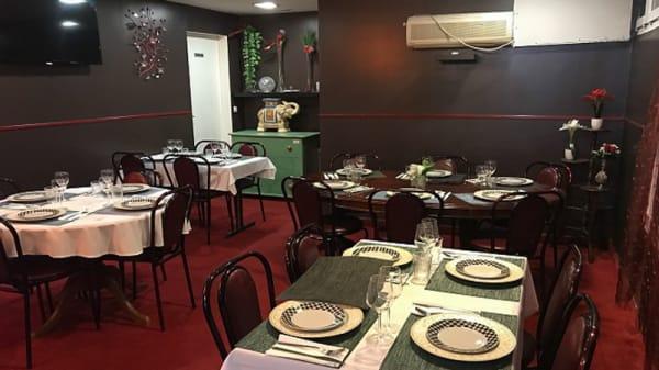 Salle du restaurant - Krishna, Choisy-le-Roi