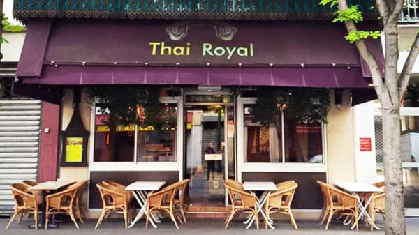 Devanture - Thai Royal, Paris