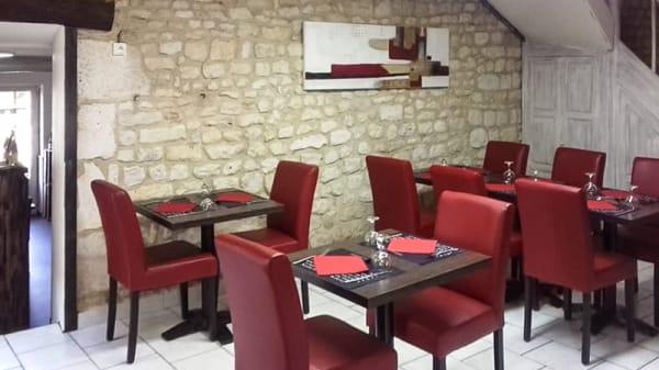 Salle du restaurant - Les 3 Cocottes, Auzay