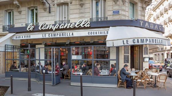 Devanture - Le Campanella, Paris