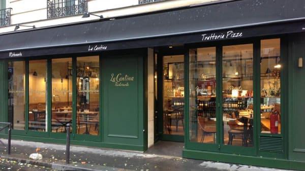 Devanture - La Cantina, Paris