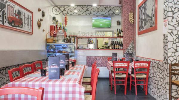 Vista sala - Don Michele, Bologna