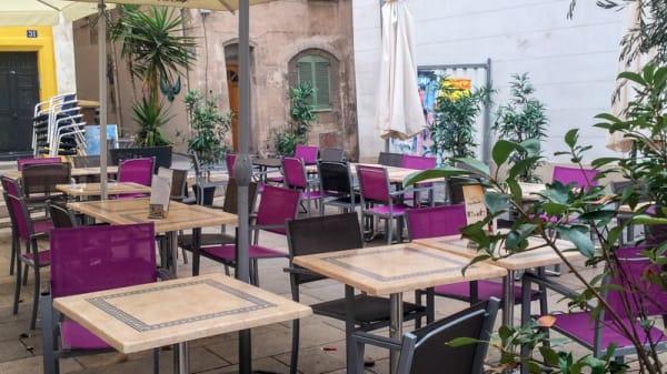 Terrasse - Les Délices du Panier, Marseille