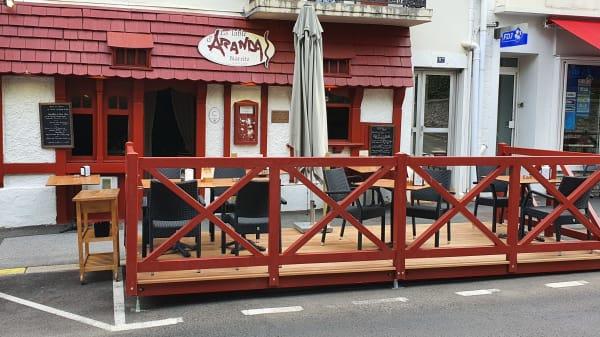 Table d'Aranda, Biarritz