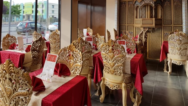 Tables dressées - Baber, Le Blanc-Mesnil