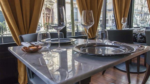 Vue de la salle - Restaurant Khajuraho Fine Dine and bar, Paris