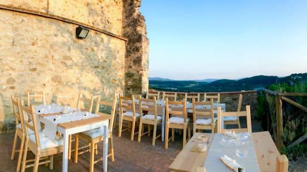 Terrazza - Osteria Al Cassero, Poggibonsi