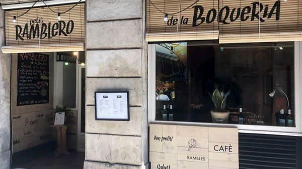 Entrada - Petit Ramblero, Barcelona