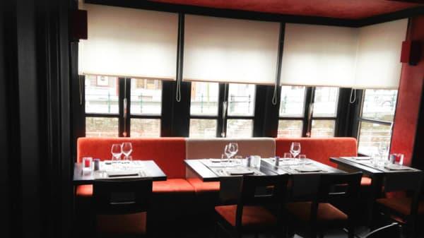 Vue de la salle - Restaurant Madrid, Mechelen