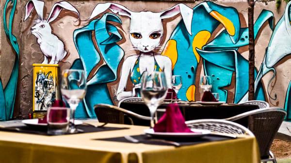 Detalle sala - Afrodita, Barcelona
