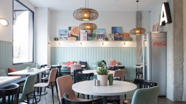 Vista del interior - Aboca Grill, Madrid