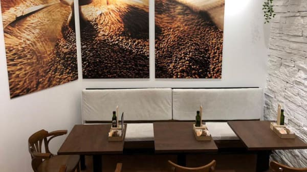 Vista de la sala - Coffee Corner Comedias, Valencia