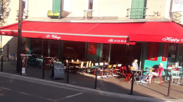exterieur - Le Village, Ivry-sur-Seine