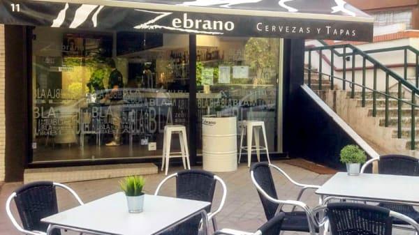 Terraza - Zebranos, Madrid
