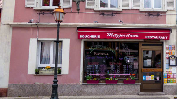 Entrée - Metzgerstuwa, Soultz-Haut-Rhin