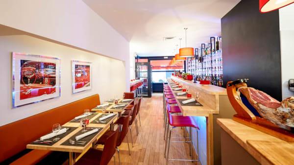 Vue salle - Brasserie Rose, Ixelles