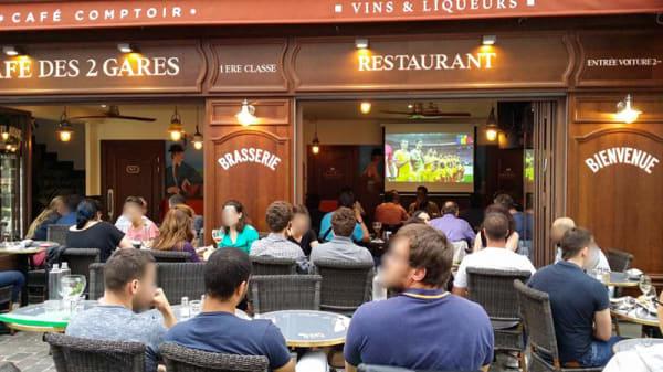 Terrasse - Café des 2 Gares, Bourg-la-Reine