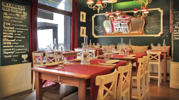 vistas mesas y espejo - Carlitos, Barcelona