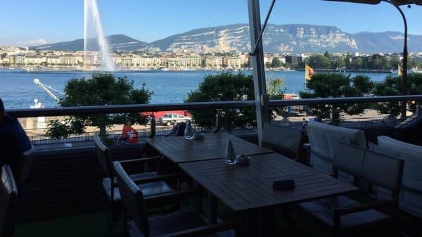 Terrasse - FloorTwo Bar - Fairmont Grand Hotel Geneva, Genève