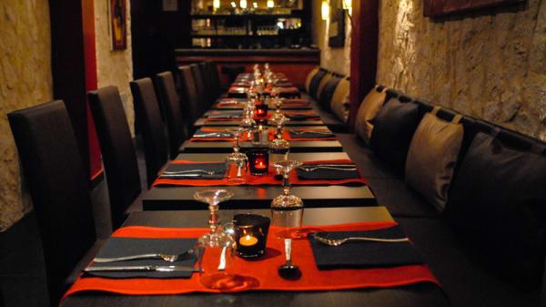 Table dressée - Le Nilaja, Paris