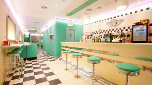 Vista sala - The Diner, Leganés