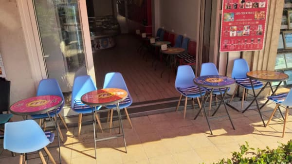 Terrasse - Family Funky Donuts, Nice