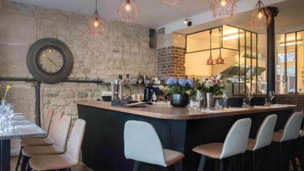 Salle du restaurant - Restaurant Biscotte, Paris