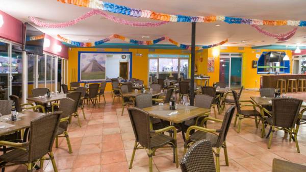 Vista de la sala - Mellow burger, Eivissa