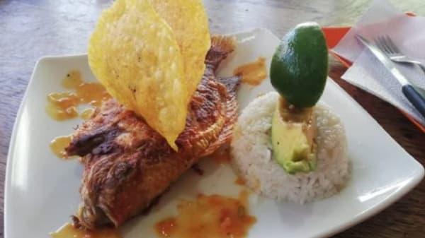 Mojarrita asada al horno. Menú del día - Joseachef Eventos y Alimentos, Bogotá