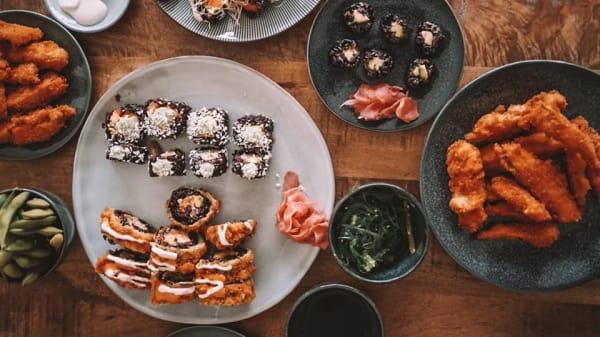 Suggestie van de chef - Vegan Sushi Bar Van Woustraat, Amsterdam