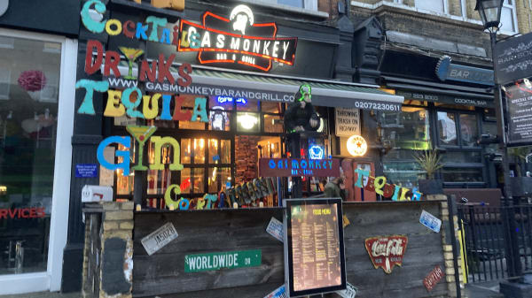 Gas Monkey Bar And Grill, London