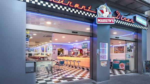 Fachada - Marilyn's Diner, Gerona
