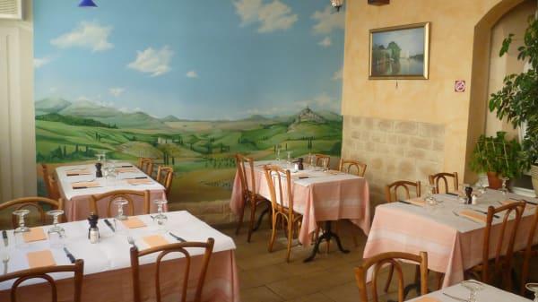 Salle du restaurant - Le Borgia, Chêne-Bourg
