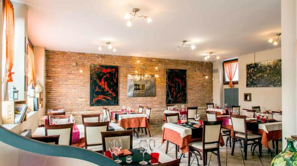 Vista della sala - L'Osteria Rosso di Sera, Bernareggio
