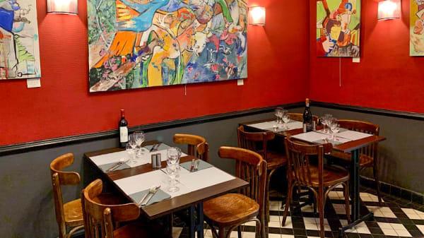 Salle du restaurant - Chez Nous, Levallois-Perret