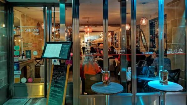devanture - La Sartoria - Restaurant Italien sans Gluten et Bio, Paris