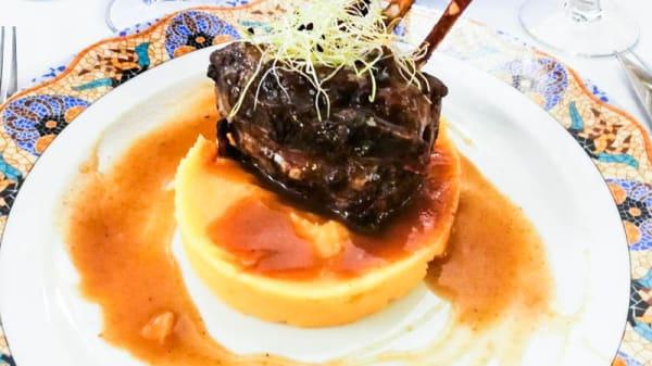sugerencia del chef - El Celler de Sarrià, Barcelona