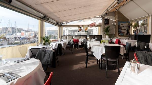 Vue de la salle - Chez Madie Les Galinettes, Marseille